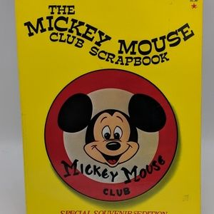 1976 Mickey Mouse Club Scrapbook